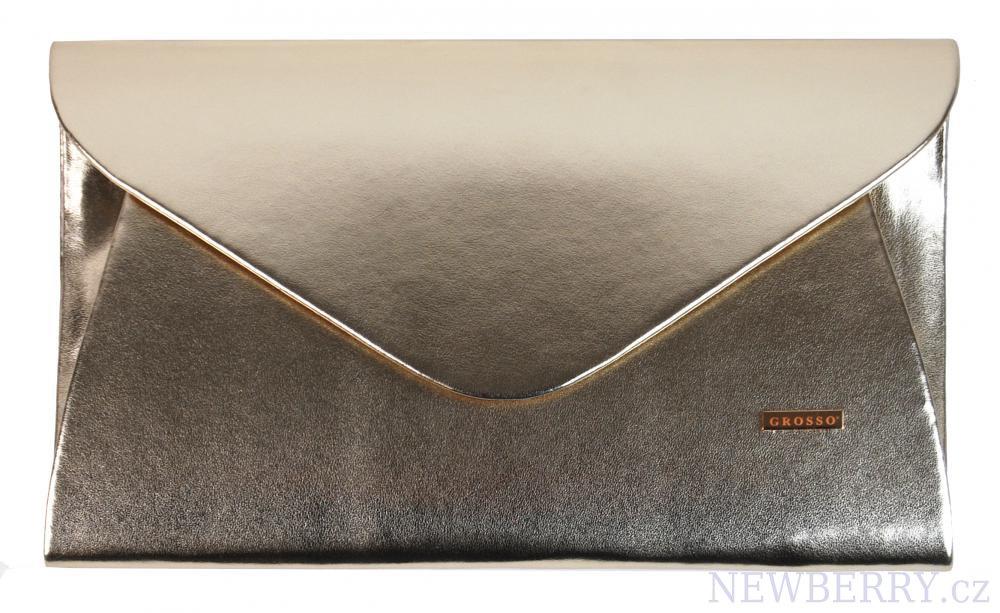88680962a3e Luxusní zlaté dámské psaníčko SP126 GROSSO   NEWBERRY - velkoobchod ...